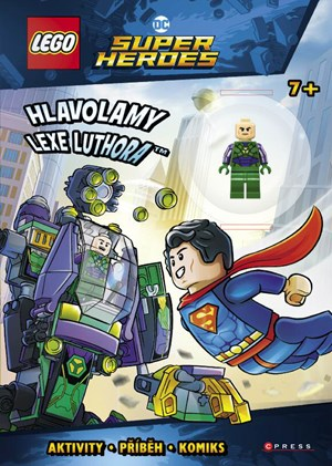 LEGO® DC Comics Super Heroes Hlavolamy Lexe Luthora