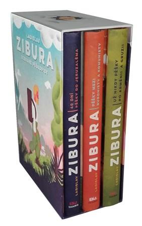 Ladislav Zibura: Sebrané pěškopisy (trojbox podepsaných knih + pexeso)