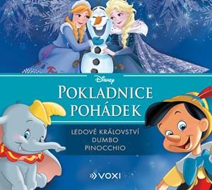 Disney - Ledové království, Dumbo, Pinocchio (audiokniha pro děti)