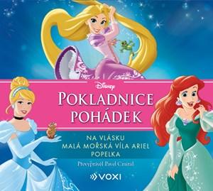 Disney - Na vlásku, Malá mořská víla Ariel, Popelka  (audiokniha pro děti)