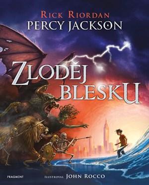 Percy Jackson – Zloděj blesku (ilustrované vydání)