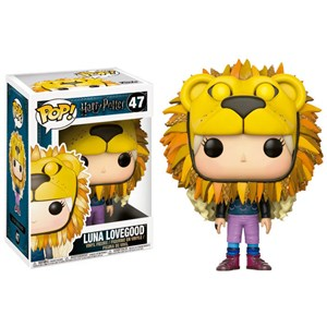 Funko Pop figurka 47 – Harry Potter – LUNA LOVEGOOD WITH LION HEAD