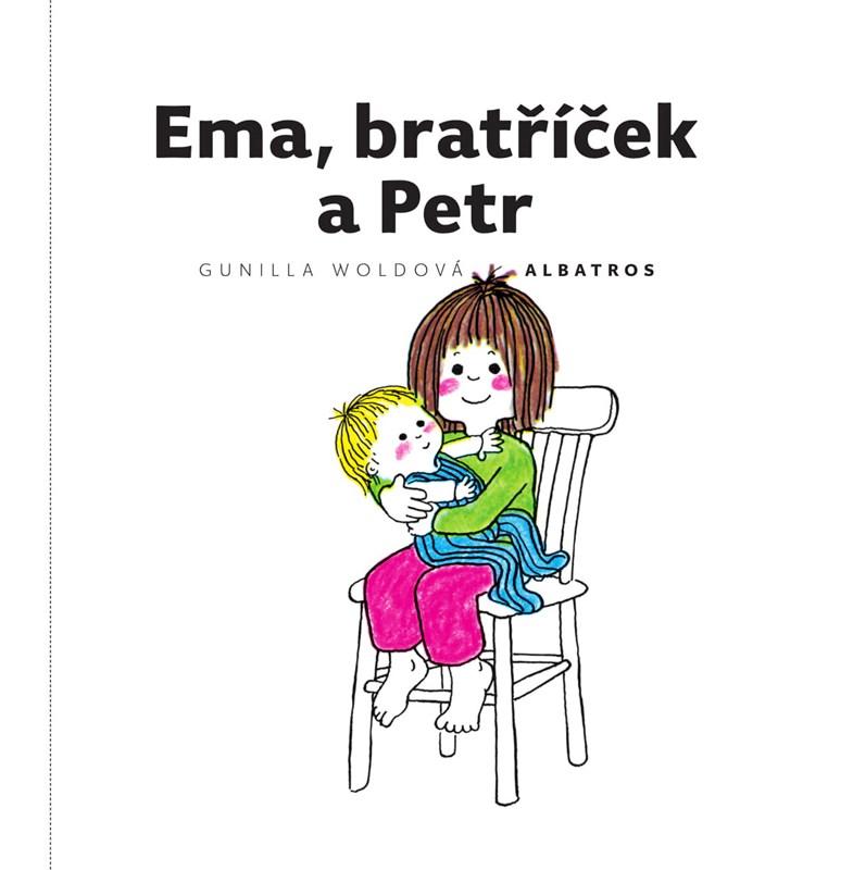 Levně Ema, bratříček a Petr   Jarka Vrbová, Gunilla Woldová, Gunilla Woldová