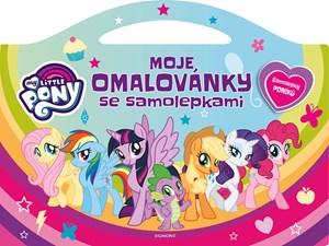 My Little Pony - Moje omalovánky se samolepkami