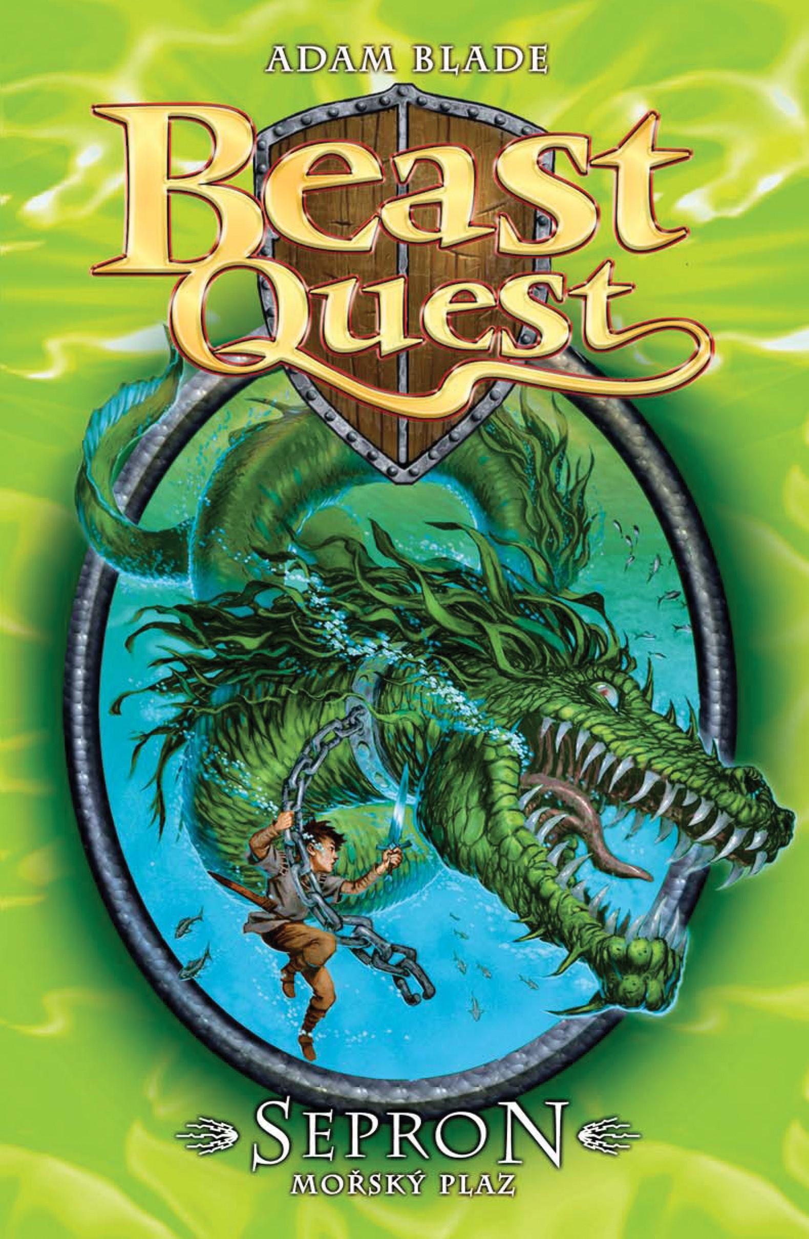 Sepron, mořský plaz - Beast Quest (2)