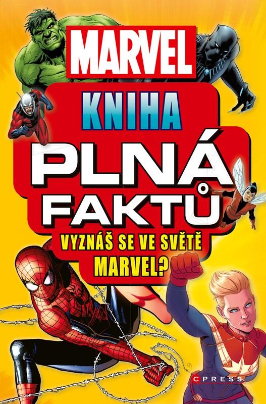MARVEL KNIHA PLNÁ FAKTŮ/CPRESS