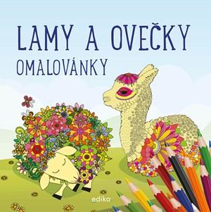Lamy a ovečky - omalovánky