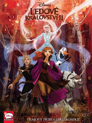 Ledové království II - filmový příběh jako komiks