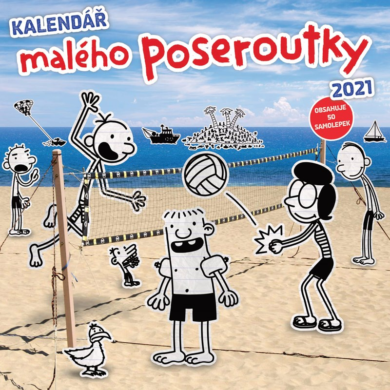 NK 2021 KALENDÁŘ MALÉHO POSEROUTKY/ALBATROS
