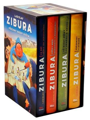 Ladislav Zibura: Všechny krásy světa (čtyřbox podepsaných knih + puzzle)