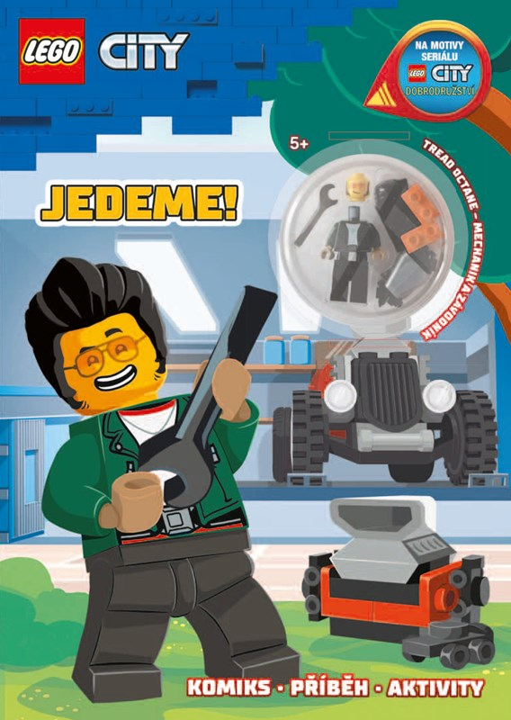 LEGO CITY JEDEME!