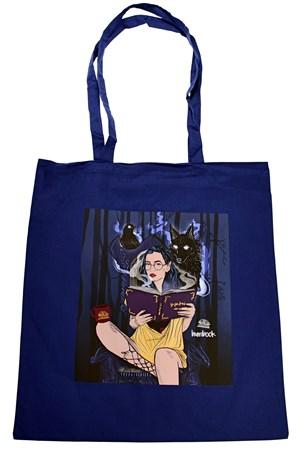 Knihoholka Hedvika fantasy - plátěná taška PDF