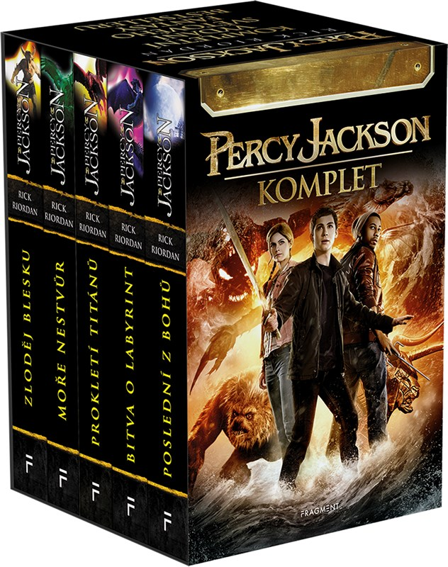 Levně PERCY JACKSON - komplet 1.-5.díl - box   Rick Riordan