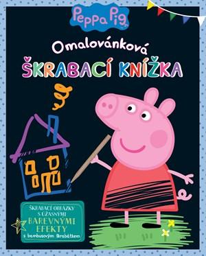 Peppa Pig - Omalovánková škrábací knížka