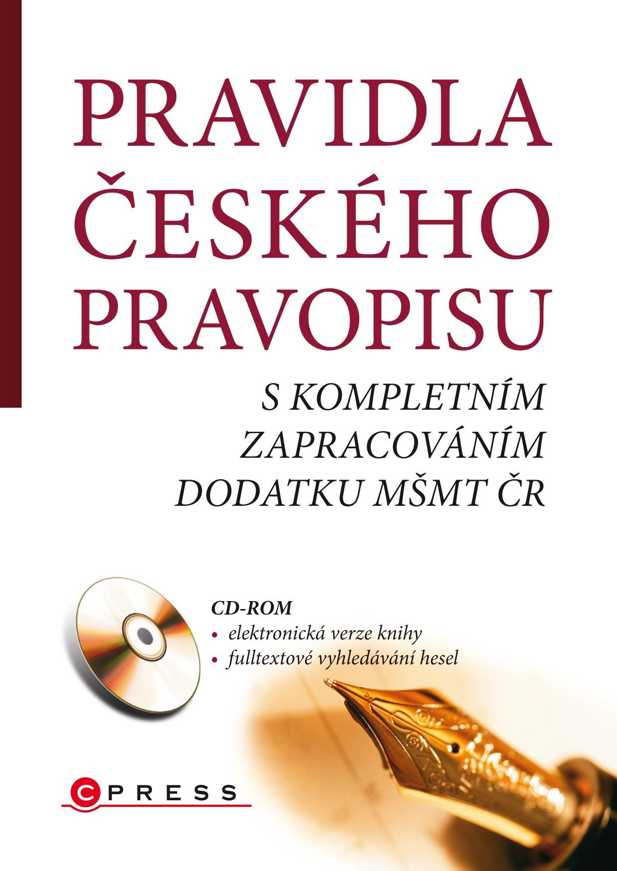 PRAVIDLA ČESKÉHO PRAVOPISU + CD