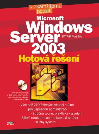Microsoft Windows Server 2003   Patrik Malina
