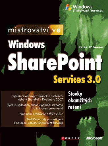 Mistrovství ve Windows Sharepoint Services 3.0 | Errin O'Connor