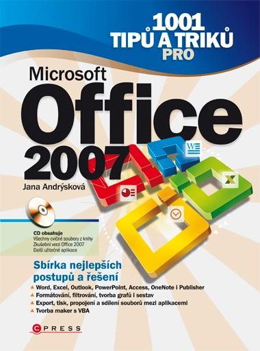 1001 tipů a triků pro Microsoft Office 2007 | Jana Andrýsková