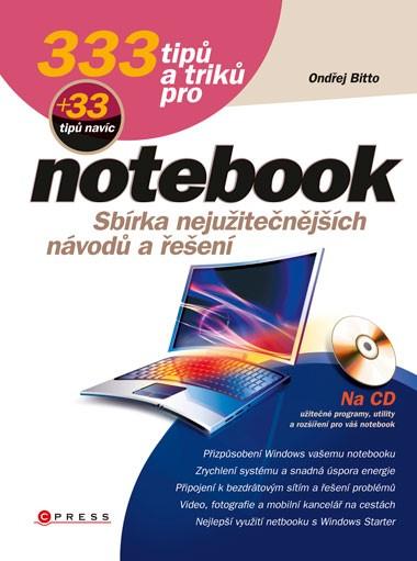333 TIPŮ A TRIKŮ PRO NOTEBOOK + CD