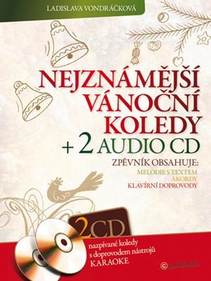 Nejznámější vánoční koledy + 2 audio CD
