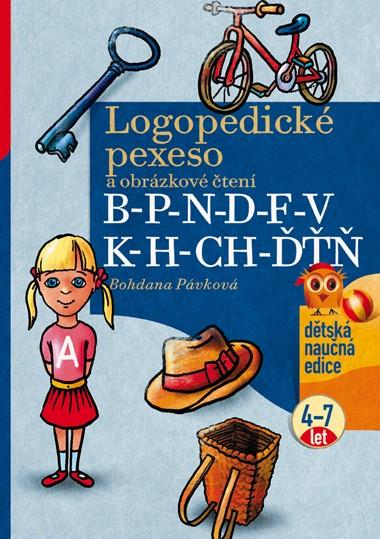Logopedické pexeso a obrázkové čtení | Bohdana Pávková