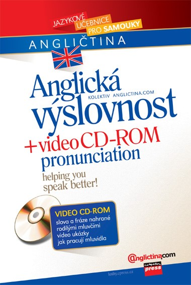 Anglická výslovnost + video CD-ROM | Anglictina.com