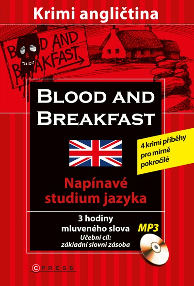 BLOOD AND BREAKFEST KRIMI ANGLIČTINA