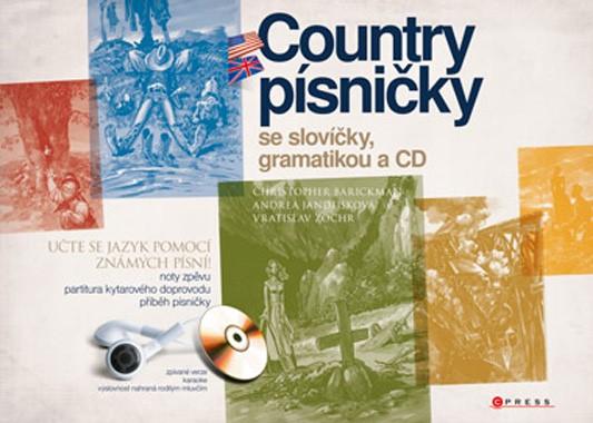 Country písničky se slovíčky, gramatikou a CD | Christopher Barickman