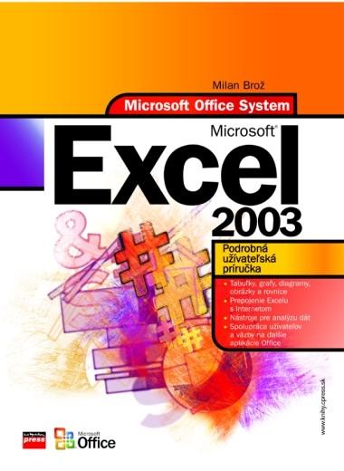 Microsoft Excel 2003 | Milan Brož