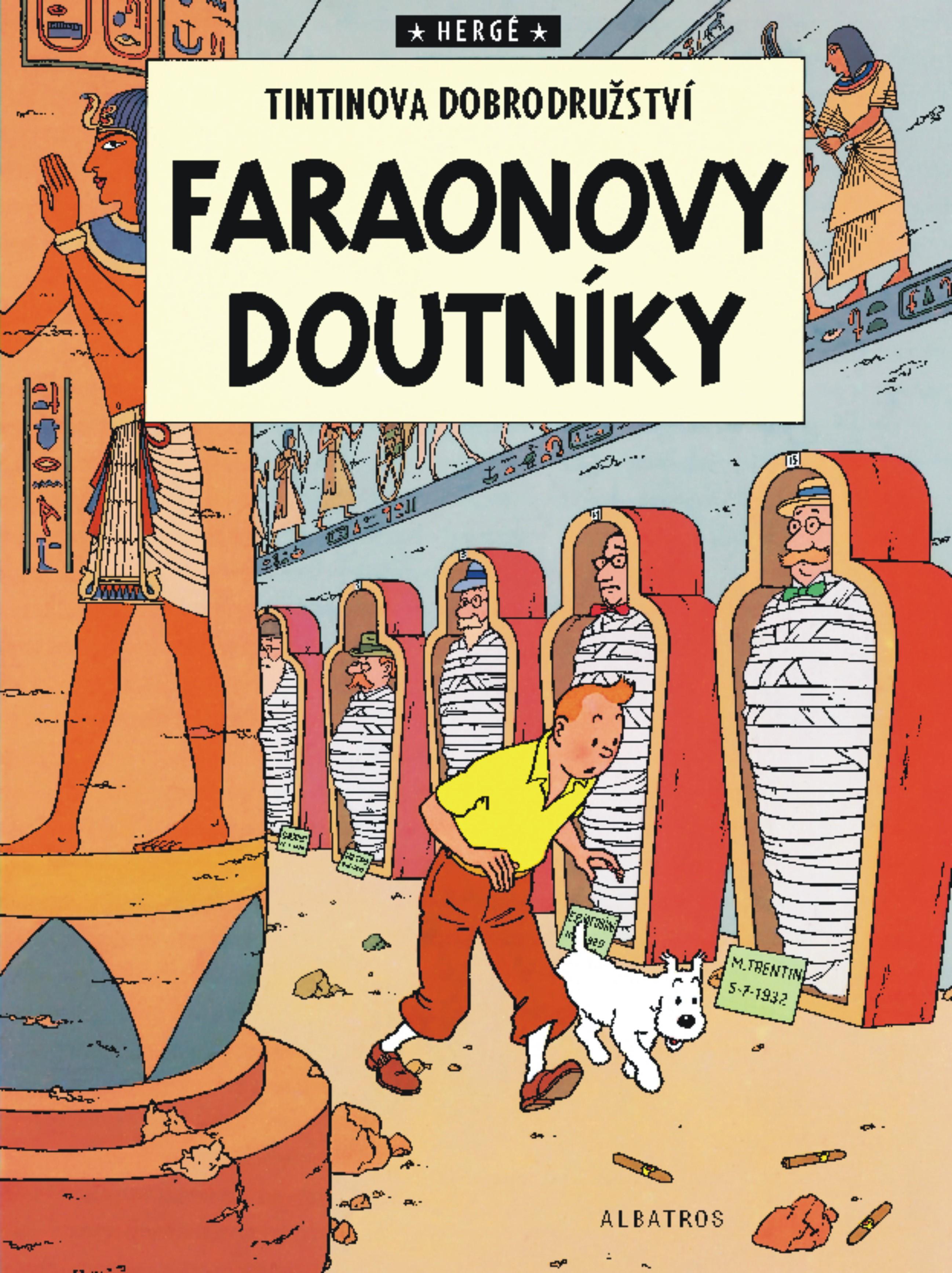 Tintin 4 - Faraonovy doutníky