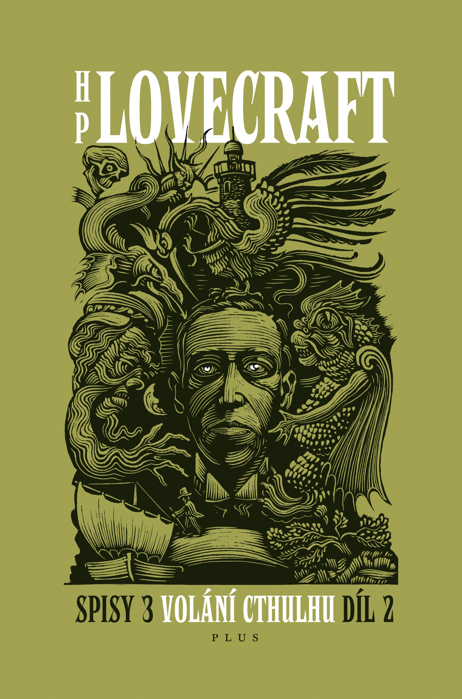 Volání Cthulhu - Spisy 3/II | Howard P. Lovecraft