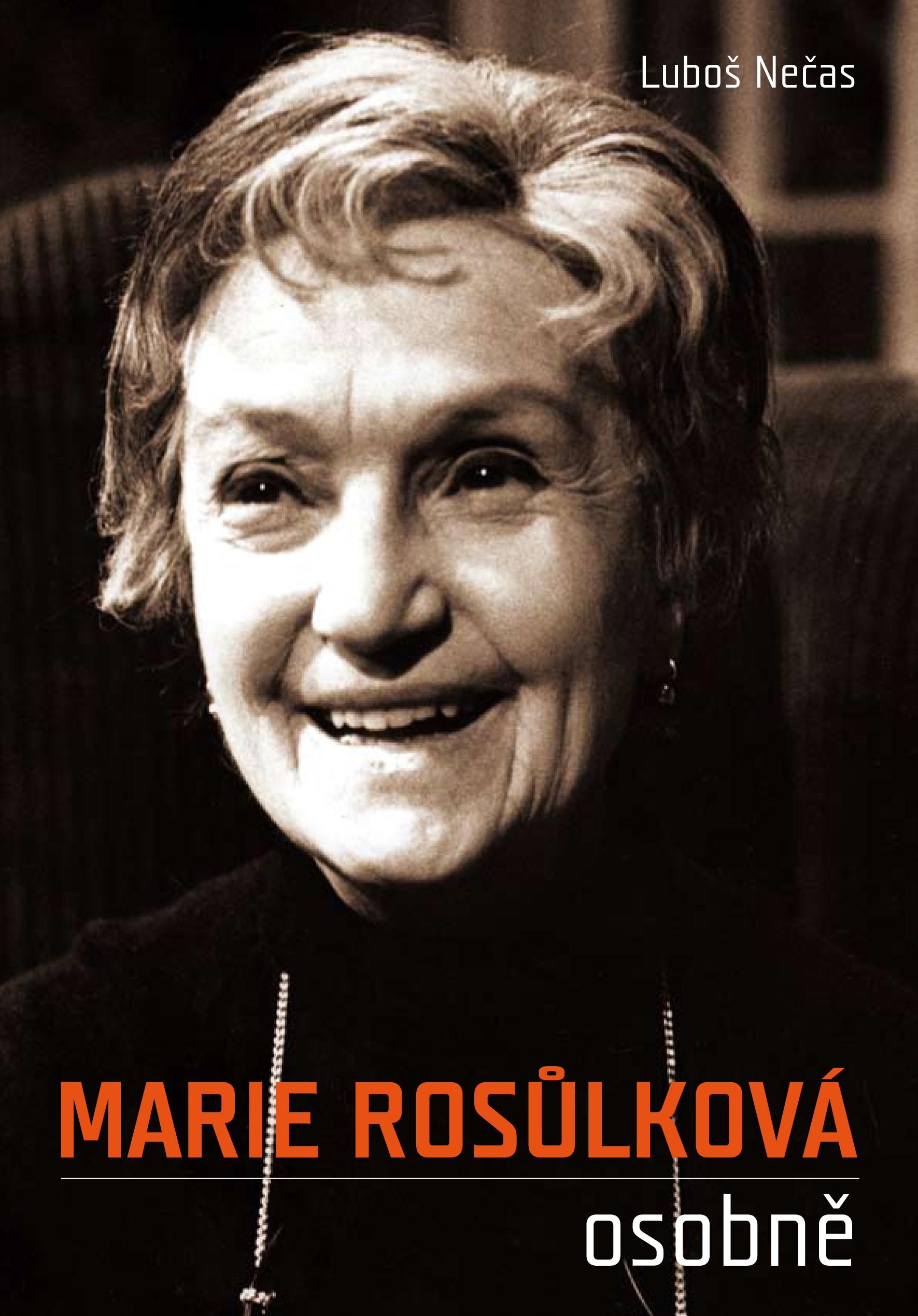 Marie Rosůlková osobně | Luboš Nečas