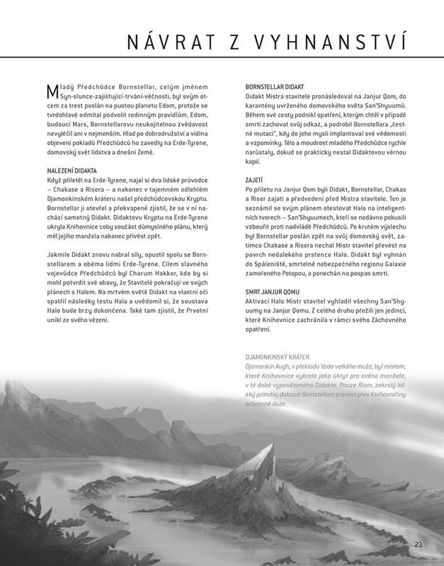 Halo Mythos - Průvodce příběhem | Albatrosmedia cz