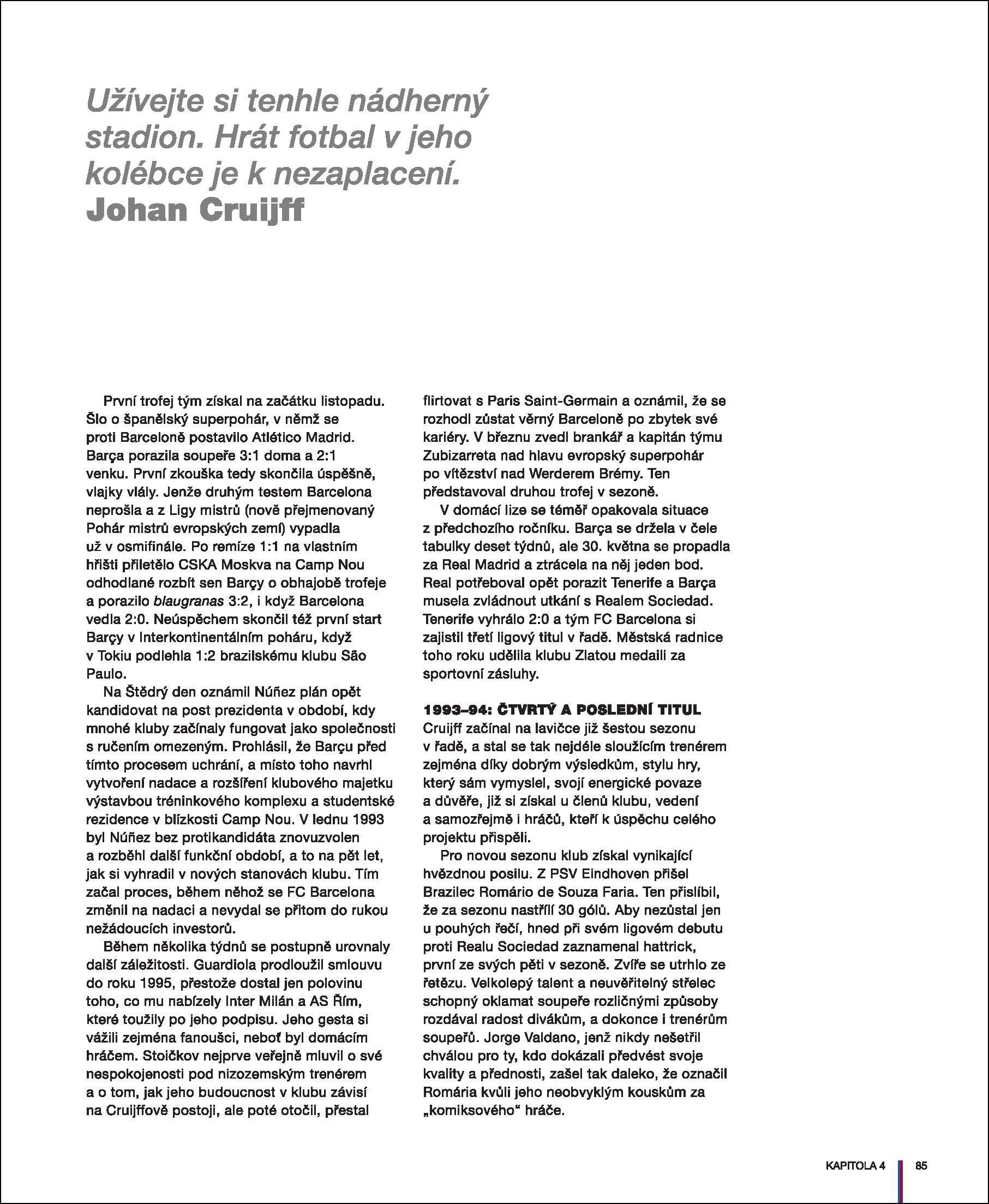 91468240cb8dd Barca: oficiální ilustrovaná historie FC Barcelona | Albatrosmedia.cz